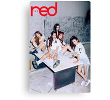 red velvet the red Canvas Print