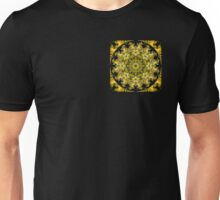Golden Wattle Mandala Unisex T-Shirt