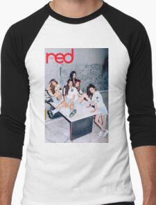 red velvet the red Men's Baseball ¾ T-Shirt