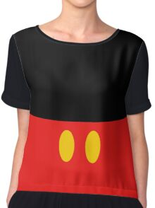 The Mickey Look Chiffon Top