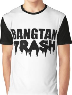 BTS/Bangtan Boys Trash Text Graphic T-Shirt