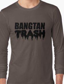 BTS/Bangtan Boys Trash Text Long Sleeve T-Shirt