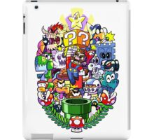 MARIO WORLD iPad Case/Skin