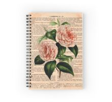 Pink Camellias on Corinthians Spiral Notebook