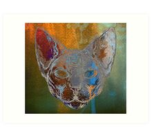 Feline Instincts Art Print
