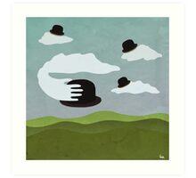 Posh Sky Art Print