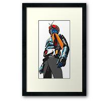 Kamen Rider Framed Print