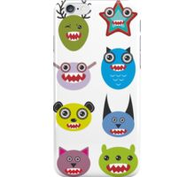 Monster set iPhone Case/Skin