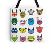 Monster set Tote Bag
