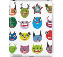 Monster set iPad Case/Skin