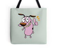 good Courage dog Tote Bag