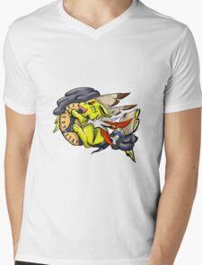 Native American Jolteon Mens V-Neck T-Shirt