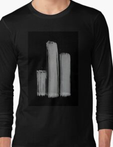 0055 - Brush and Ink - 3z3 Long Sleeve T-Shirt