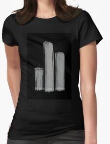 0055 - Brush and Ink - 3z3 Womens Fitted T-Shirt