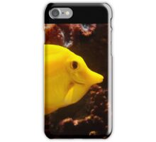 Smile ! - Happy Yellow Tang iPhone Case/Skin