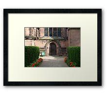 Cathedral Doorway Framed Print
