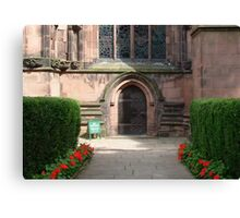 Cathedral Doorway Canvas Print