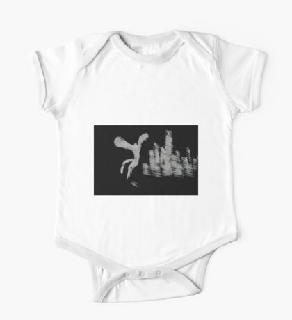 0052 - Brush and Ink - Behind Those Human Walls One Piece - Short Sleeve
