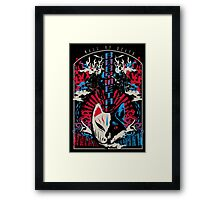 baby metal tour Framed Print