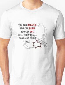 """You Can Breathe"" - Negan, The Walking Dead Unisex T-Shirt"