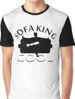 Sofa King Cool Graphic T-Shirt