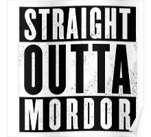 Straight Outta Mordor Poster