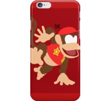 Diddy Kong - Super Smash Bros. iPhone Case/Skin