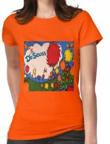 Truffula trees Womens Fitted T-Shirt