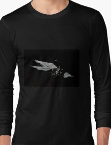 0051 - Brush and Ink - Disintegration Long Sleeve T-Shirt