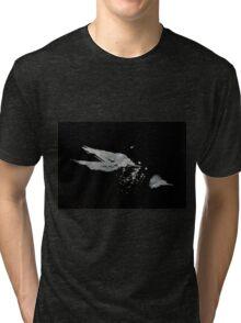 0051 - Brush and Ink - Disintegration Tri-blend T-Shirt