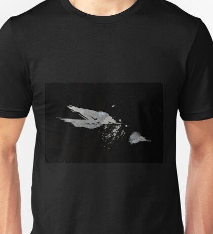 0051 - Brush and Ink - Disintegration Unisex T-Shirt