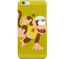 Diddy (Yellow) - Super Smash Bros. iPhone Case/Skin