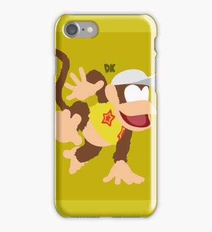 Diddy (Yellow) - Super Smash Bros. iPhone Case/Skin
