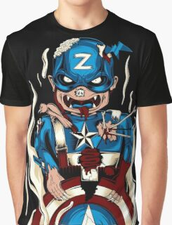 Captain Zoomerica Graphic T-Shirt