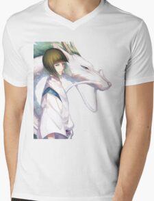 Haku the Dragon  Mens V-Neck T-Shirt