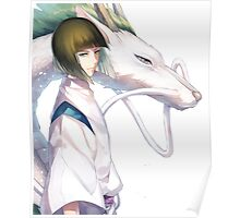 Haku the Dragon  Poster