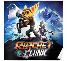 Ratchet and clank the movie Poster