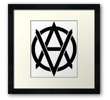 Anarchist Vegan Framed Print