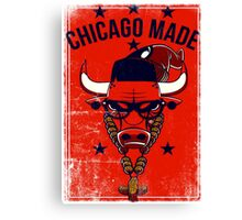 Chicago Made Canvas Print