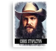 Chris Stapleton Canvas Print