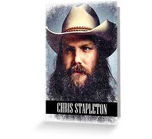 Chris Stapleton Greeting Card