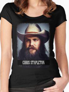 Chris Stapleton Women's Fitted Scoop T-Shirt