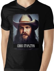 Chris Stapleton Mens V-Neck T-Shirt
