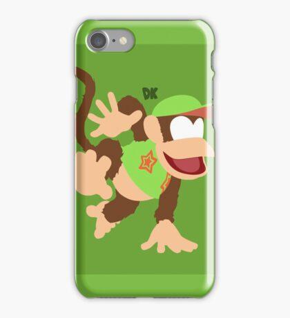 Diddy Kong (Green) - Super Smash Bros. iPhone Case/Skin