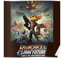 Ratchet and Clank tools of destruction Poster