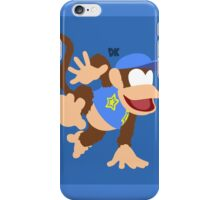 Diddy Kong (Blue) - Super Smash Bros. iPhone Case/Skin