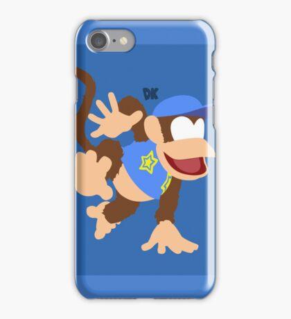 Diddy Kong (Blue) - Super Smash Bros. iPhone Case/Skin
