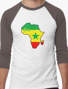 DUB : Jamaican Music Men's Baseball ¾ T-Shirt