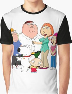 American Family Graphic T-Shirt