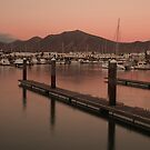 Sunset at the Marina by Ursula Rodgers